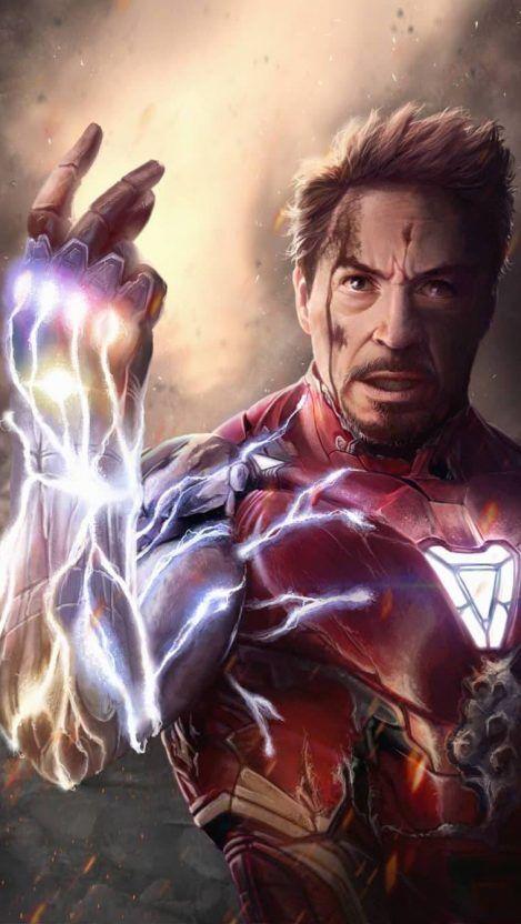 I Am Iron Man Endgame Tony Stark Snap Iphone Wallpaper Vingadores Vingadores Personagens Marvel Vingadores