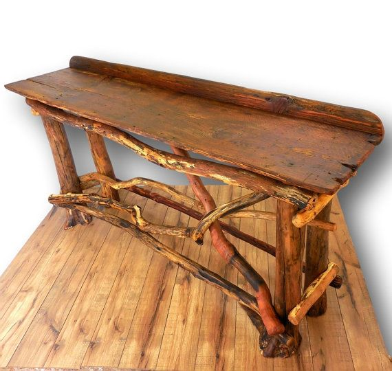 Reclaimed Wood Sofa Table Entryway Table Reclaimed Wood Table Rustic Table Rustic Home Decor Cabin Reclaimed Wood Table Wood Sofa Table Wood Table Rustic