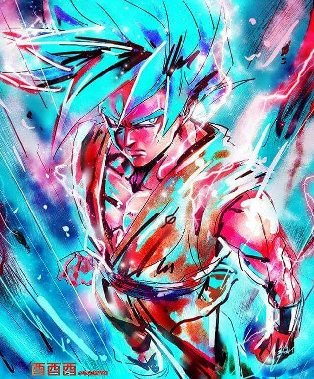 Super Saiyan God Goku from Dragon Ball Super | dragon Ball z