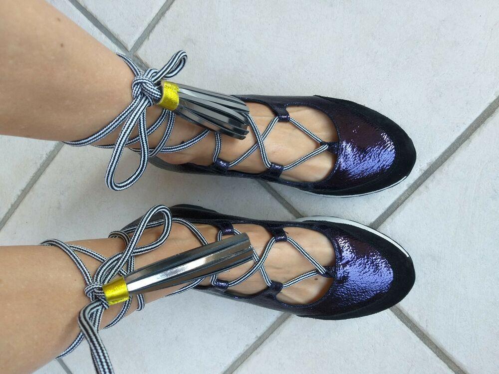 Sneakers 39 Scarpe N Ballerine Jeannot Blu Elettrico Donna wOZuPkTXi