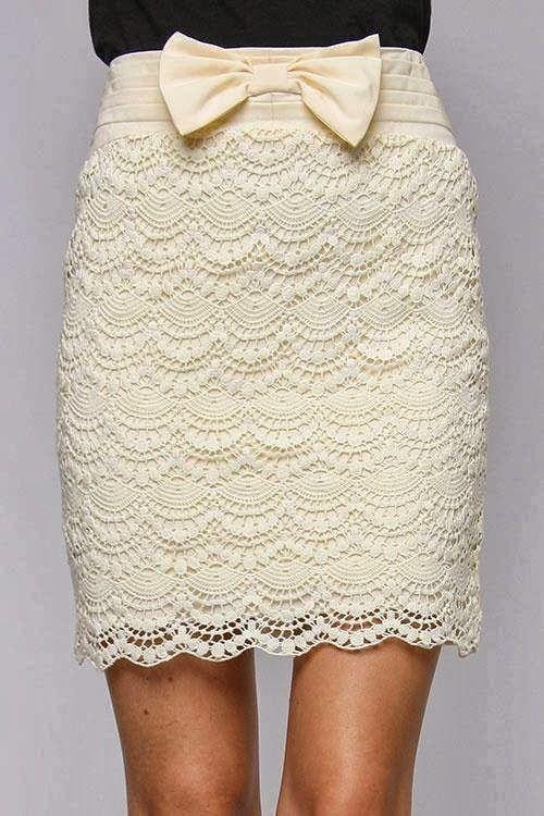 Falda -Nos vamos de Boda- Patron | Crochet - Skirts | Pinterest ...