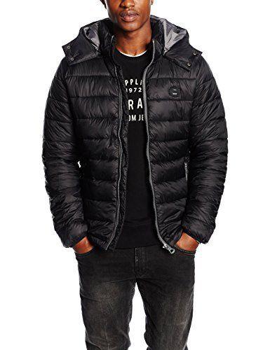 Kaporal Nunt, Blouson Homme^Homme, Noir (Black), Medium