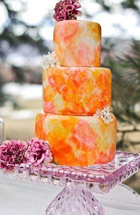 #floral #orange #peach