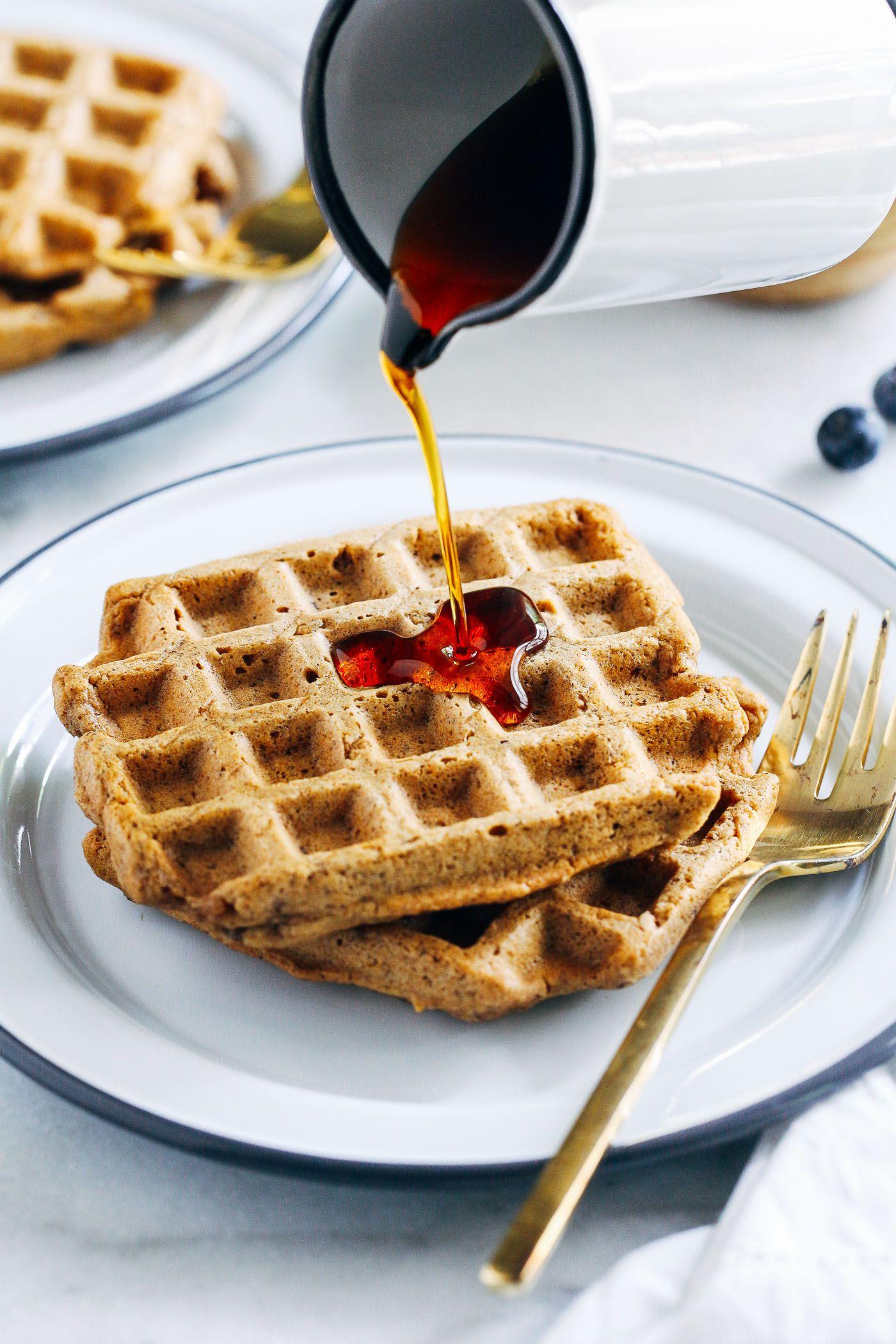 Vegan Gluten Free Oat Flour Waffles Making Thyme For Health Recipe Vegan Waffles Healthy Waffles Vegan Gluten Free