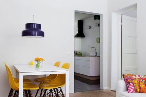 Värikkäät valkoiset huoneet | Sisustusblogi