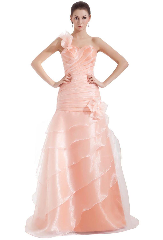 Angel Formal Dresses Pearl Pink A-line Wedding Dress >>> Discover ...