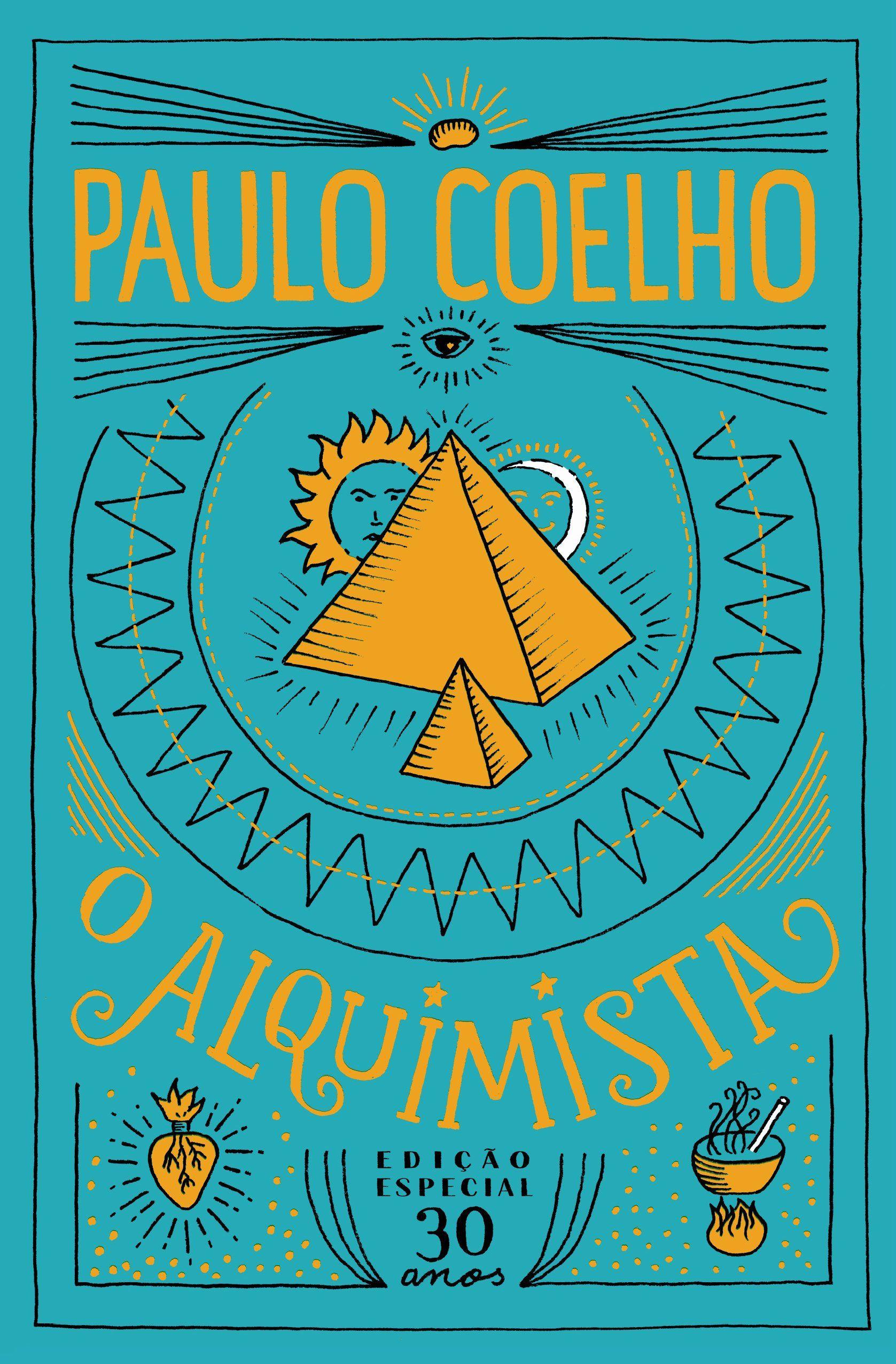 """O Alquimista, de Paulo Coelho. """"Paulo Coelho já inspirou"""