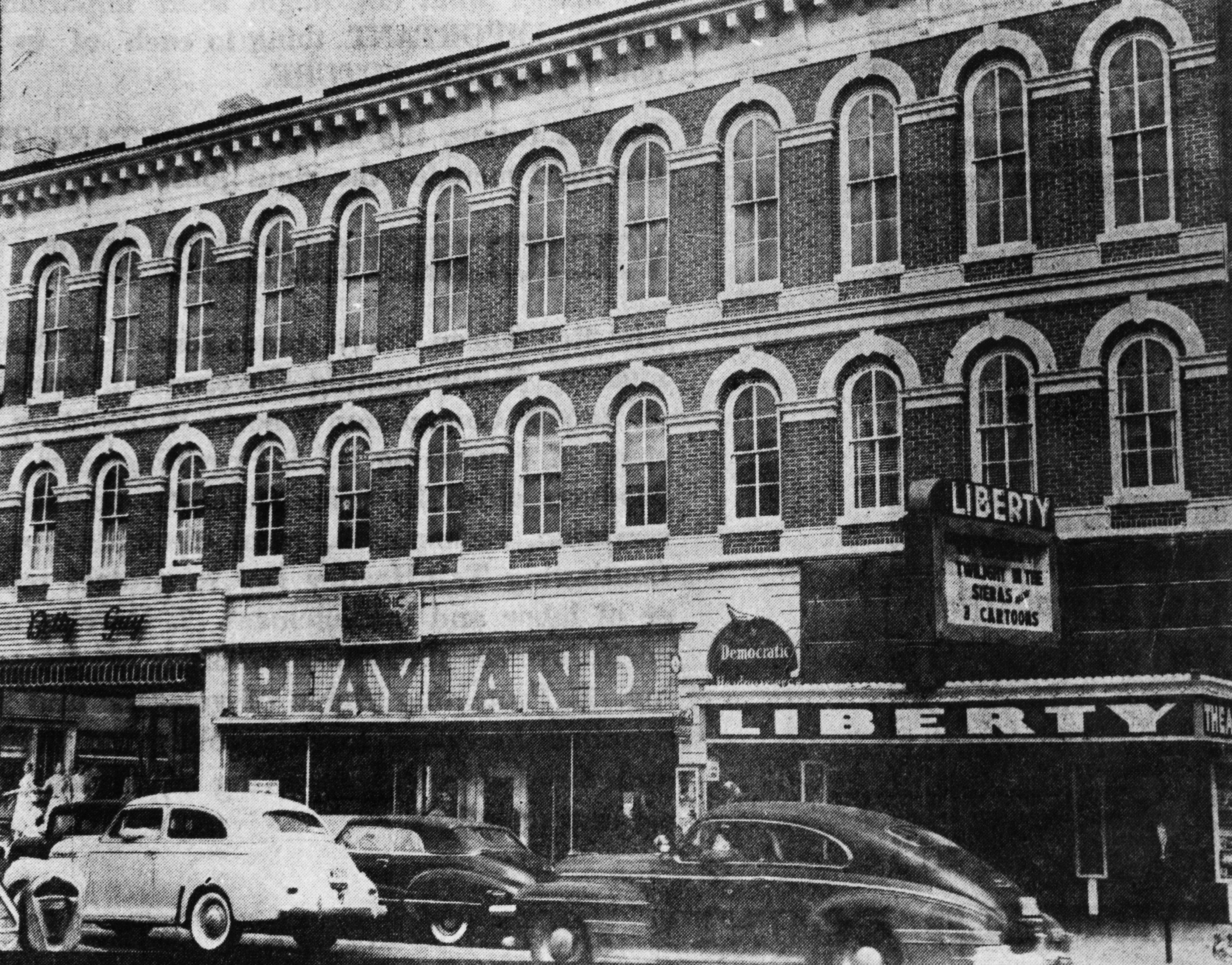 Liberty theater formerly hippodrome main st lancaster