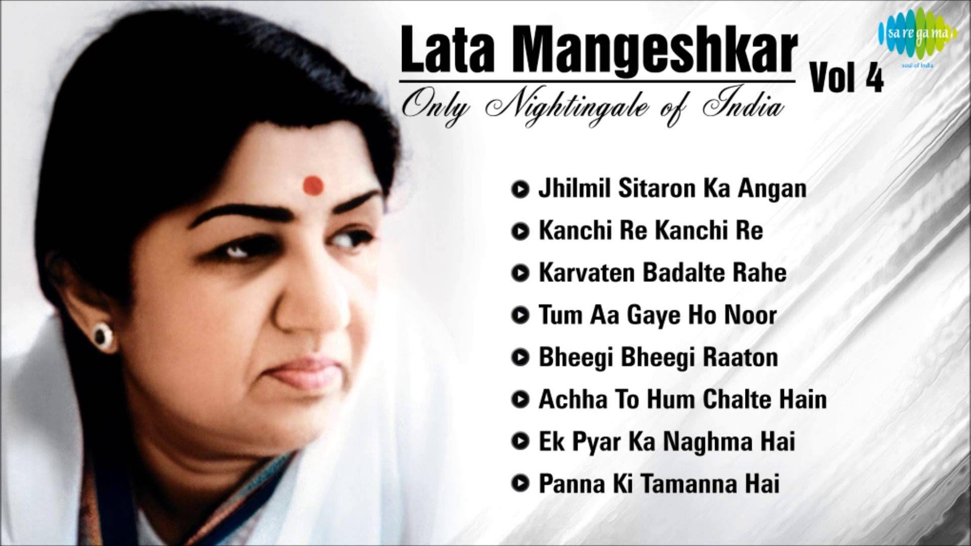 Best of Lata Mangeshkar - Old Hindi Songs - Superhit