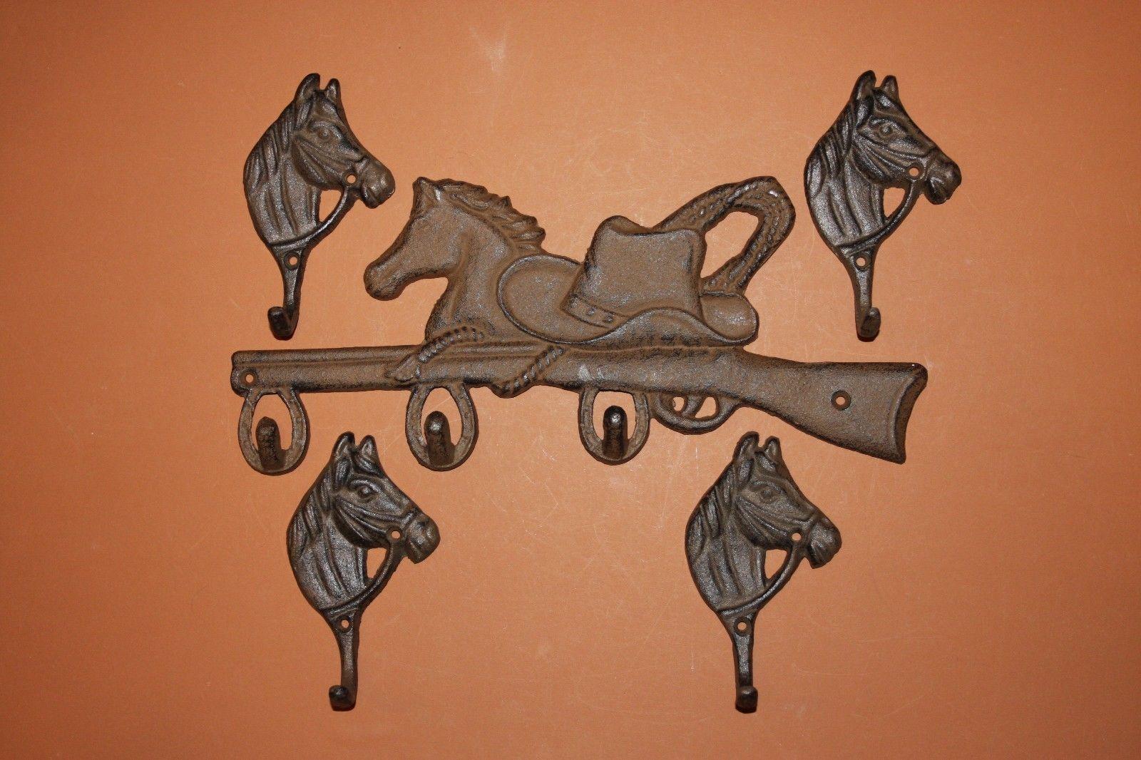 kitchen wall hook set horse decorcountry western kitchen decor