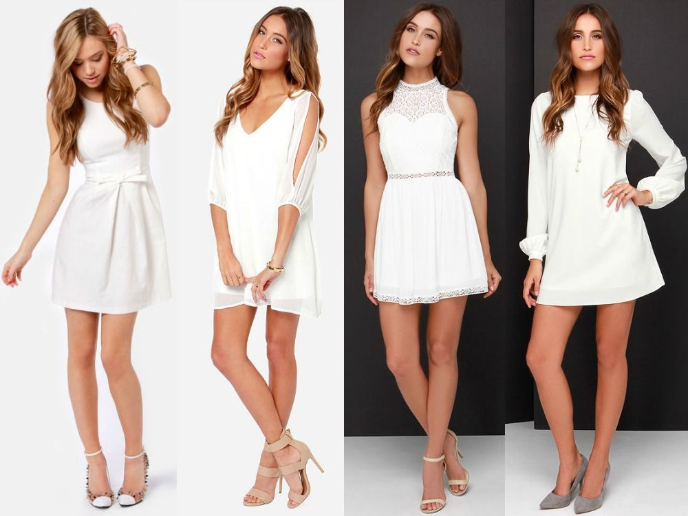 Bride S Dress Checklist What To Wear For Every Occasion Lulus Com Fashion Blog Bachelorette Party Outfit White Bachelorette Party Dress Bachelorette Party Dress