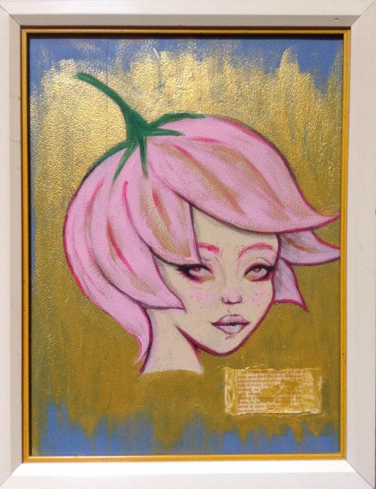 """Strawberry Sugar Queen"" now part of the Miami Dade Public Library System's Permanent Collection."