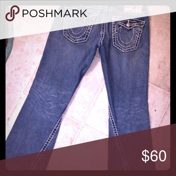 Authentic True Religion jeans Original true religions True Religion Jeans Flare & Wide Leg