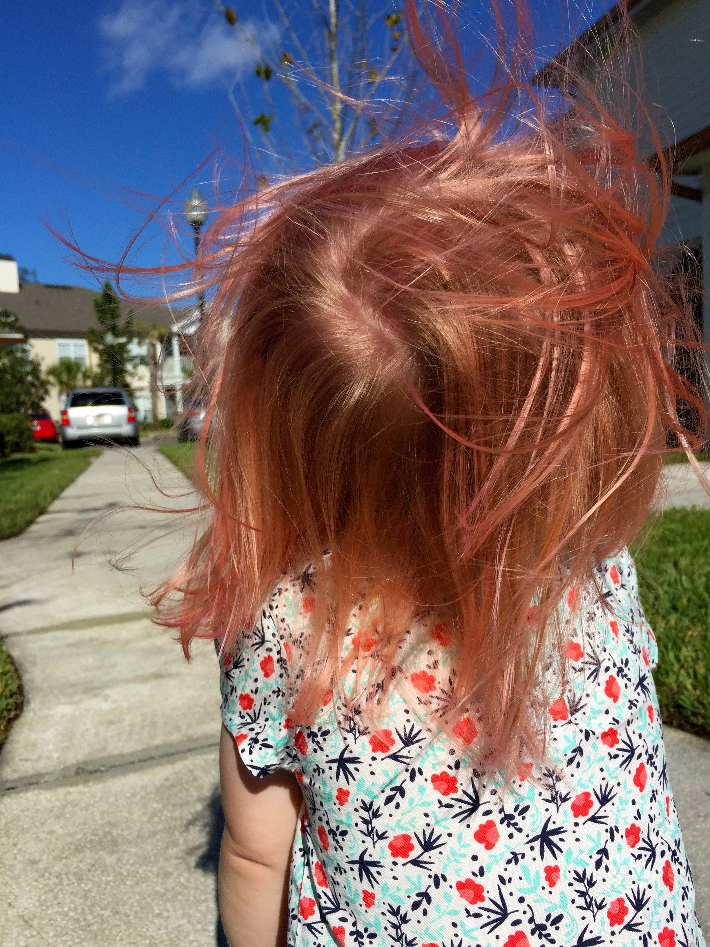 DIY Kid Safe Hair Color | Safe hair color and Hair coloring