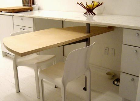Look Swing Out Kitchen Table At J T S Folding Kitchen Table Bar Table Diy Bar Height Dining Table