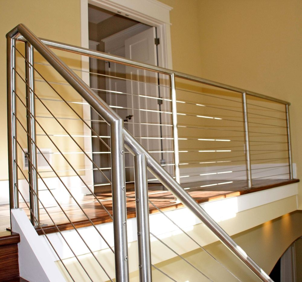 7 Ultra Modern Staircases: Pin By Ultra-tec® Cable Railing On Stair Cable Railing In
