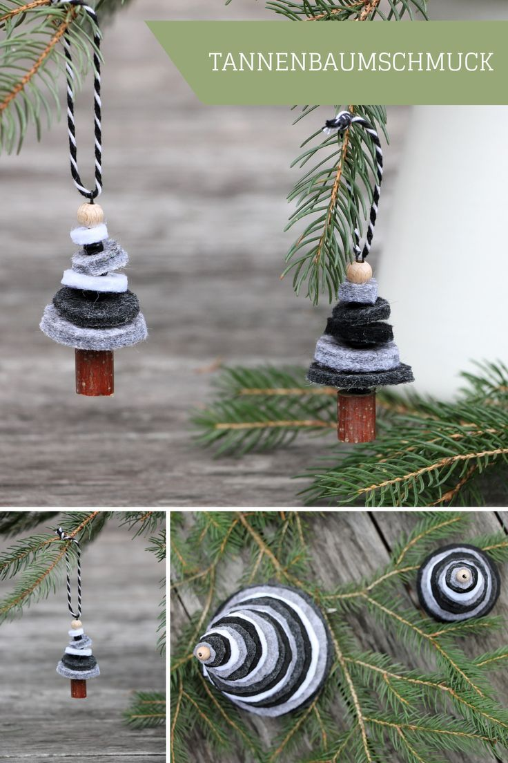 Weihnachtsdeko österreich.Filz Tannenbäume Als Weihnachtsdeko Oder Tannenbaumschmuck Diy