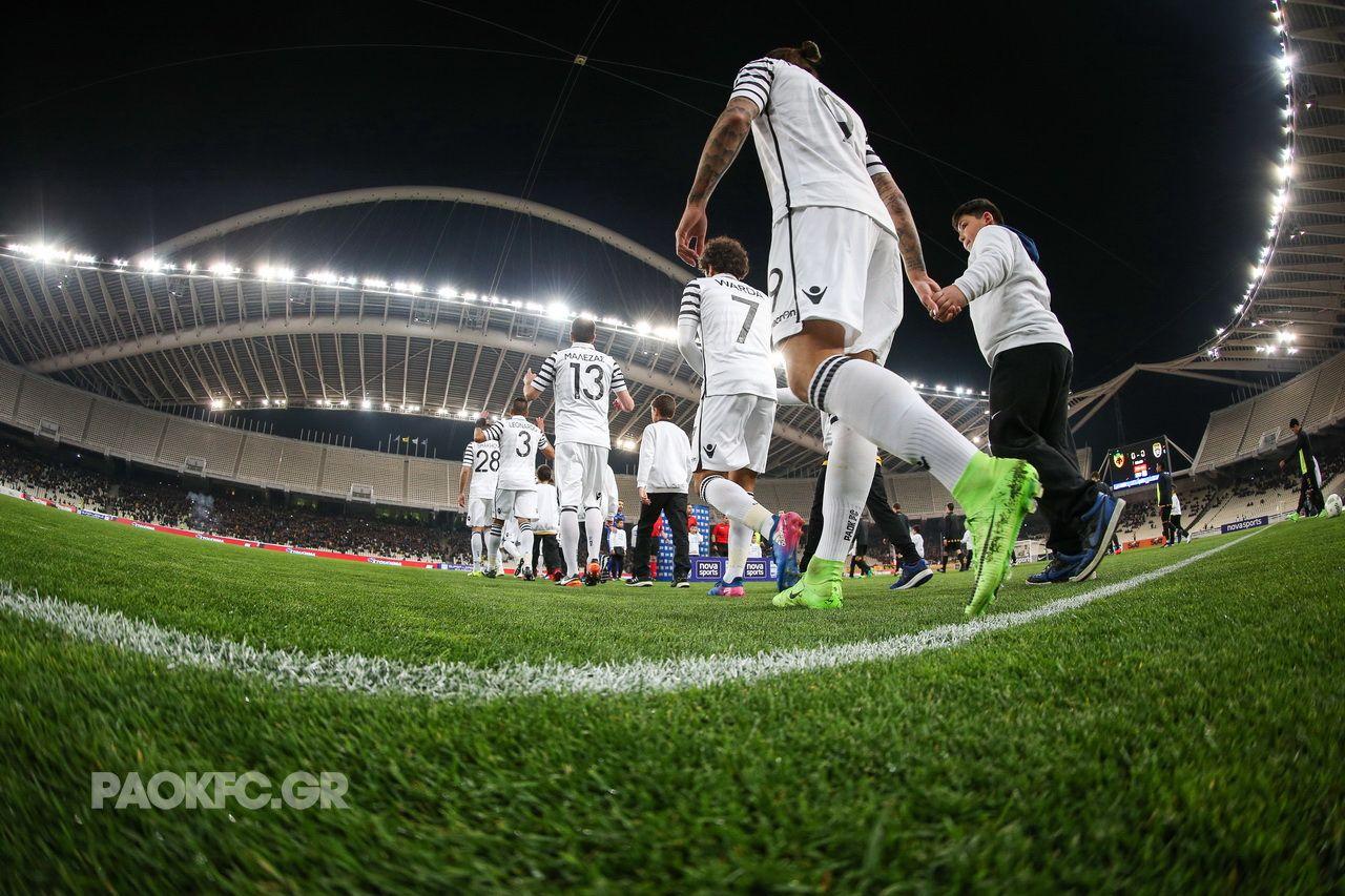 Φωτογραφικό υλικό από το ΑΕΚ-ΠΑΟΚ για την 24η αγωνιστική της Super League.
