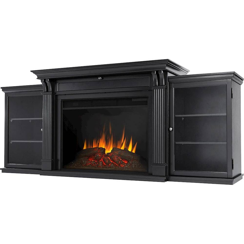 Real Flame Tracey Grand Electric Fireplace Black Electric