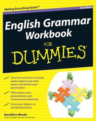 English Grammar Workbook For Dummies Gramatica Inglesa Idiomas