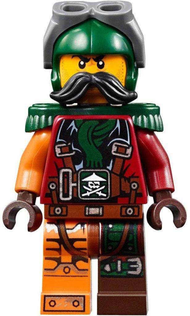 Lego Sqiffy Ninja Ninjago Minifigur Minifig njo203 Neu