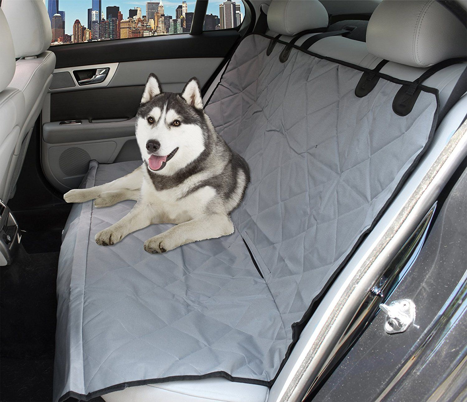 PetsPlus Dog Car Seat Cover for Cars, Trucks and SUV, Heavy Duty ...