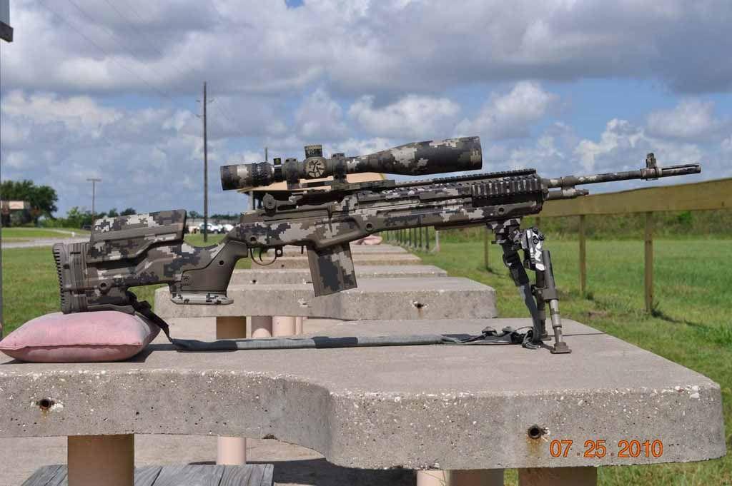 M1a With Jae 100 Stock In Digital Camo Gunz Pinterest Guns