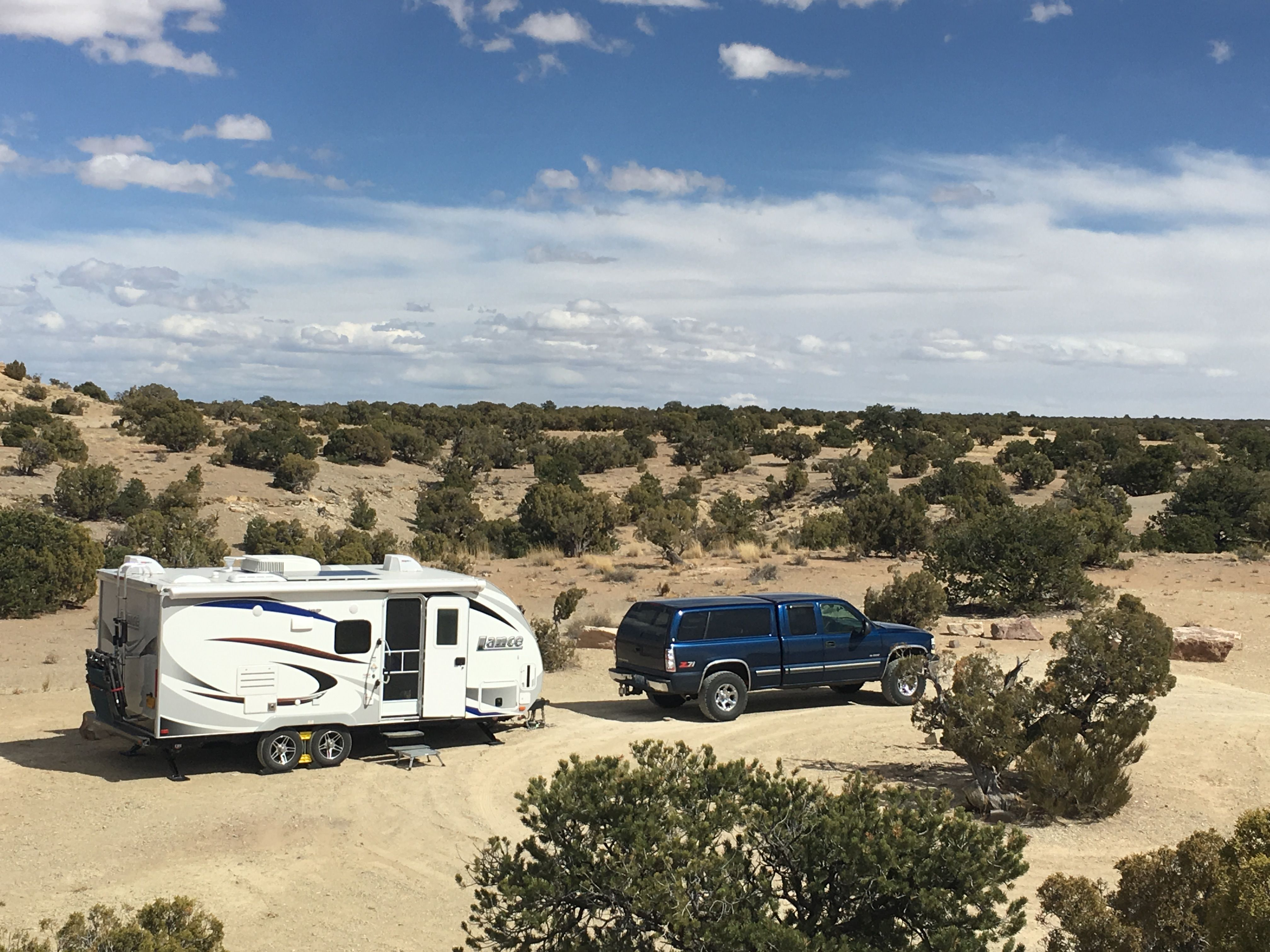 Single Post Campsite Recreational Vehicles Camping