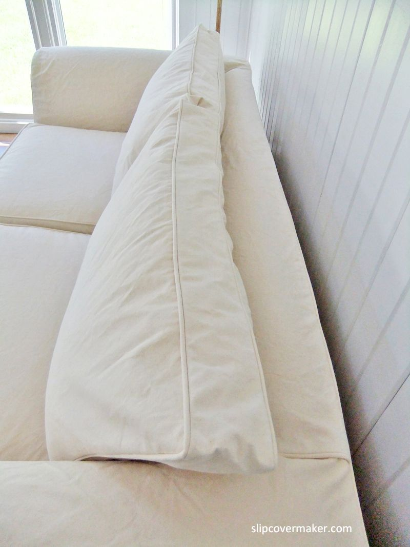 A Good Canvas for Casual Sofa Slipcovers | Canvas Slipcovers ...