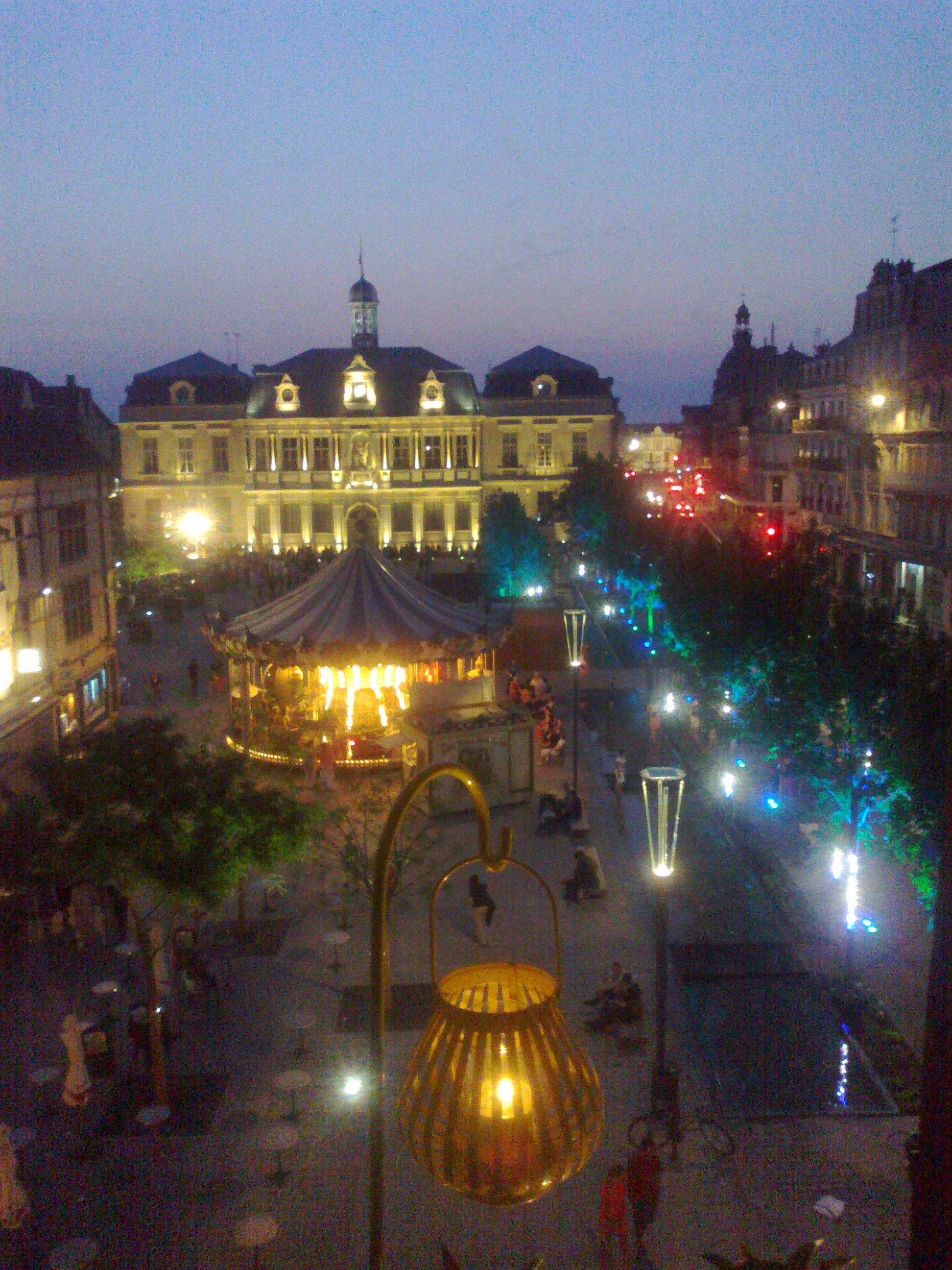 Place De L U0026 39 H U00f4tel De Ville Vue De Mes Fen U00e8tres
