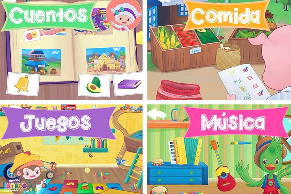 Three Free Spanish Apps for Kids Kids app, Spanish