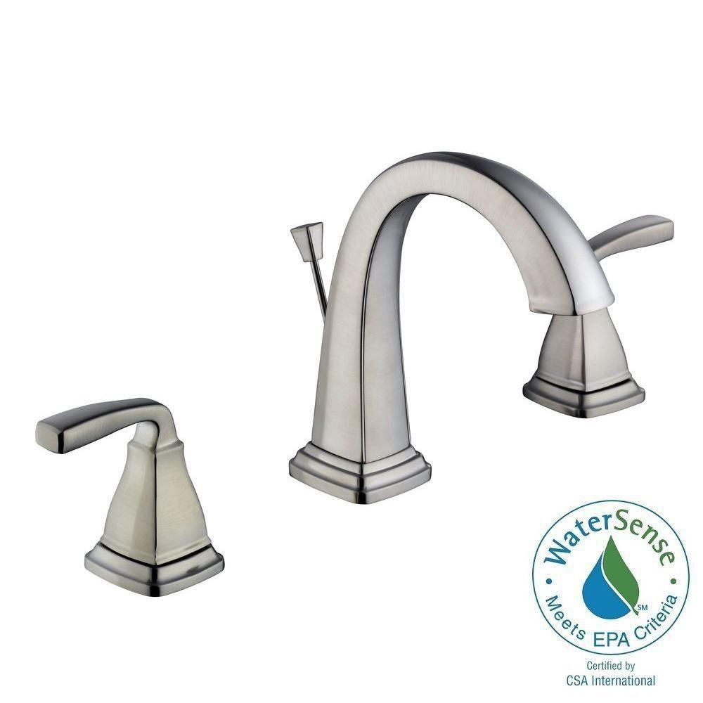 Belle Foret Mason 8 in. Widespread 2-Handle High-Arc Bathroom Faucet ...