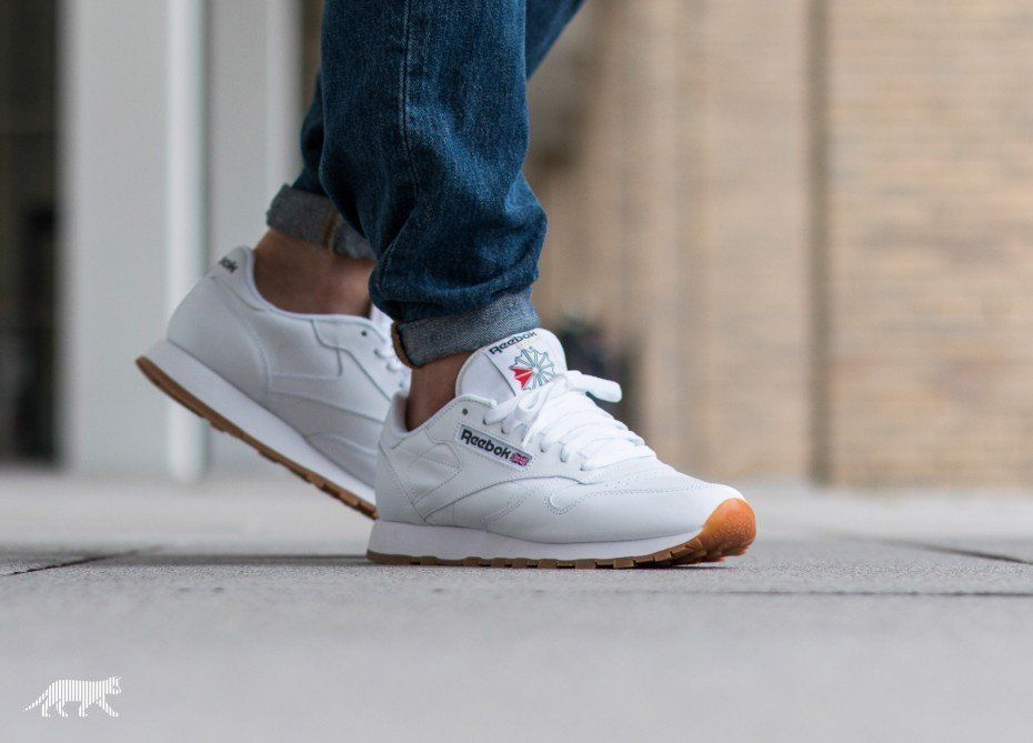 69f9724cf4591 Reebok Classic Leather (White   Gum)