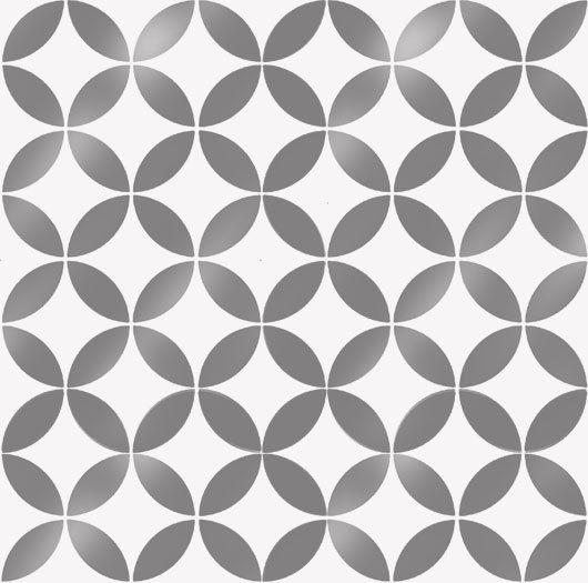 Moroccan circles pattern stencil, Home decor paint walls, art craft