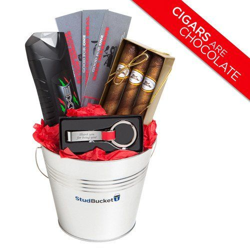 gift basket ideas for men easter baskets for him chocolate cigars keychain bottle opener - Valentine Day Delivery Ideas For Him