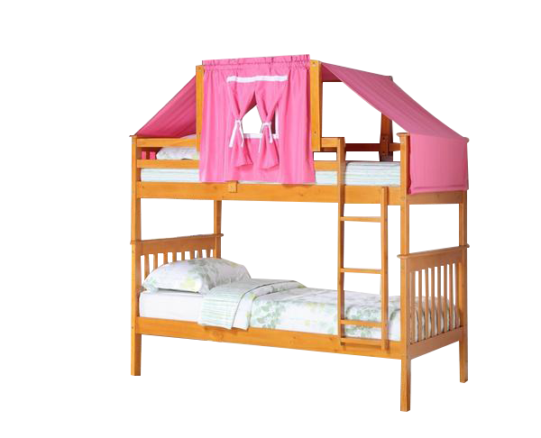 Ella Honey Bunk Bed With Pink Tent Bunk Bed And Bedrooms