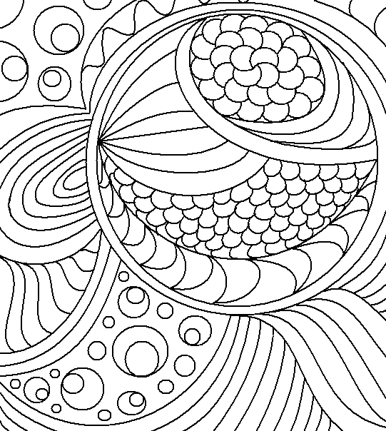 Abstract Lineart 4