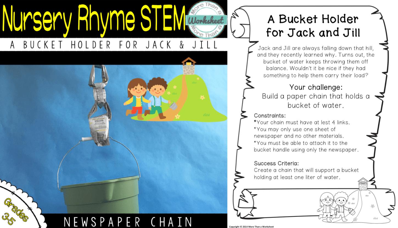 The Best Stem Challenge Ever Newspaper Chain Challenge