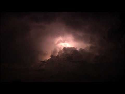 1 thunderstorm ambience thunder lightning and heavy rain