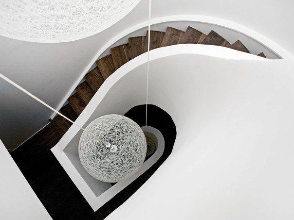 Treppenverkleidung aus Eichenholz HABILLAGE D'ESCALIERS by CABUY D.