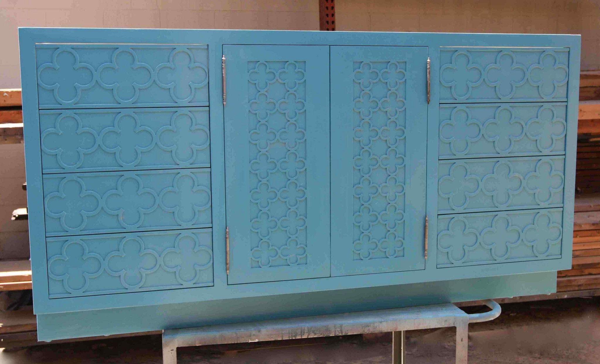 Moroccan Door Panel Bathroom Cabinet | Bathroom cabinets, Moroccan ...