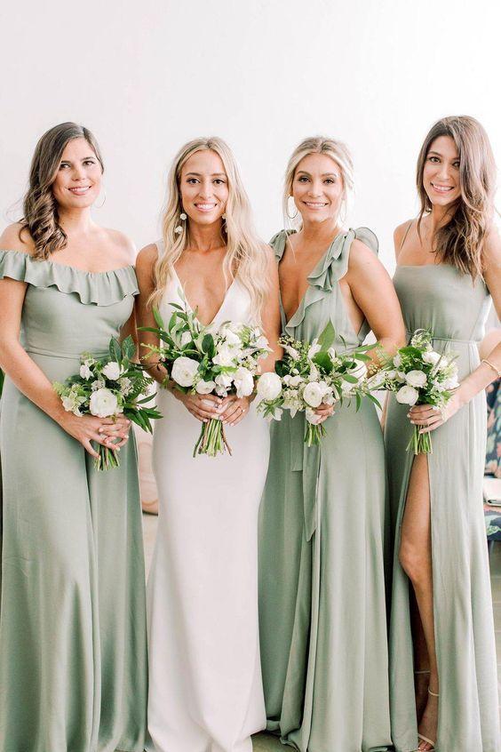 24 Timeless Sage Green Wedding Color Ideas