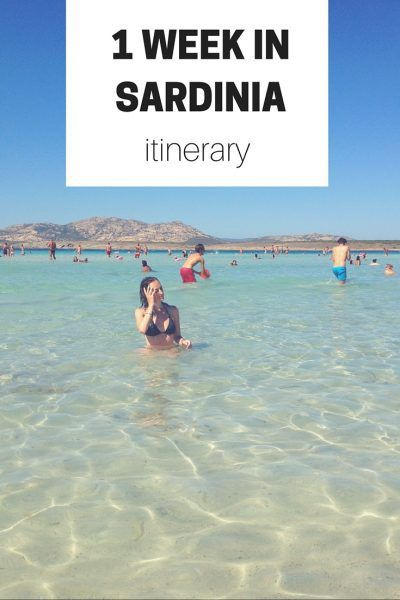 Check Out This Sample Itinerary Plus Extra Tips And Resources For A Week Long Vacation In Sardinia