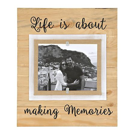 Life is About Making Memories Picture Frame, 8x10 | Kirklands