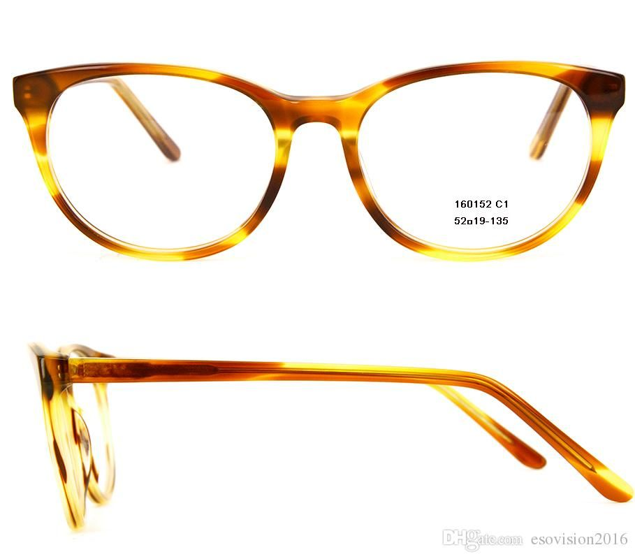 new arrival 2017 fashion women eyeglasses frames designer eyeglass frame full rim acetate optical frame with