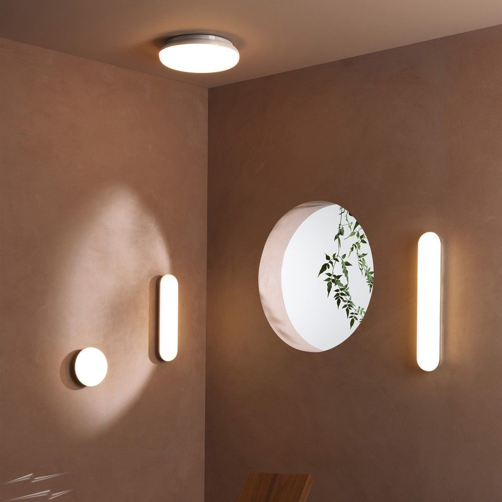Altea 500 LED Bathroom Wall Light in Polished Chrome, IP44 Oval Lamp ...