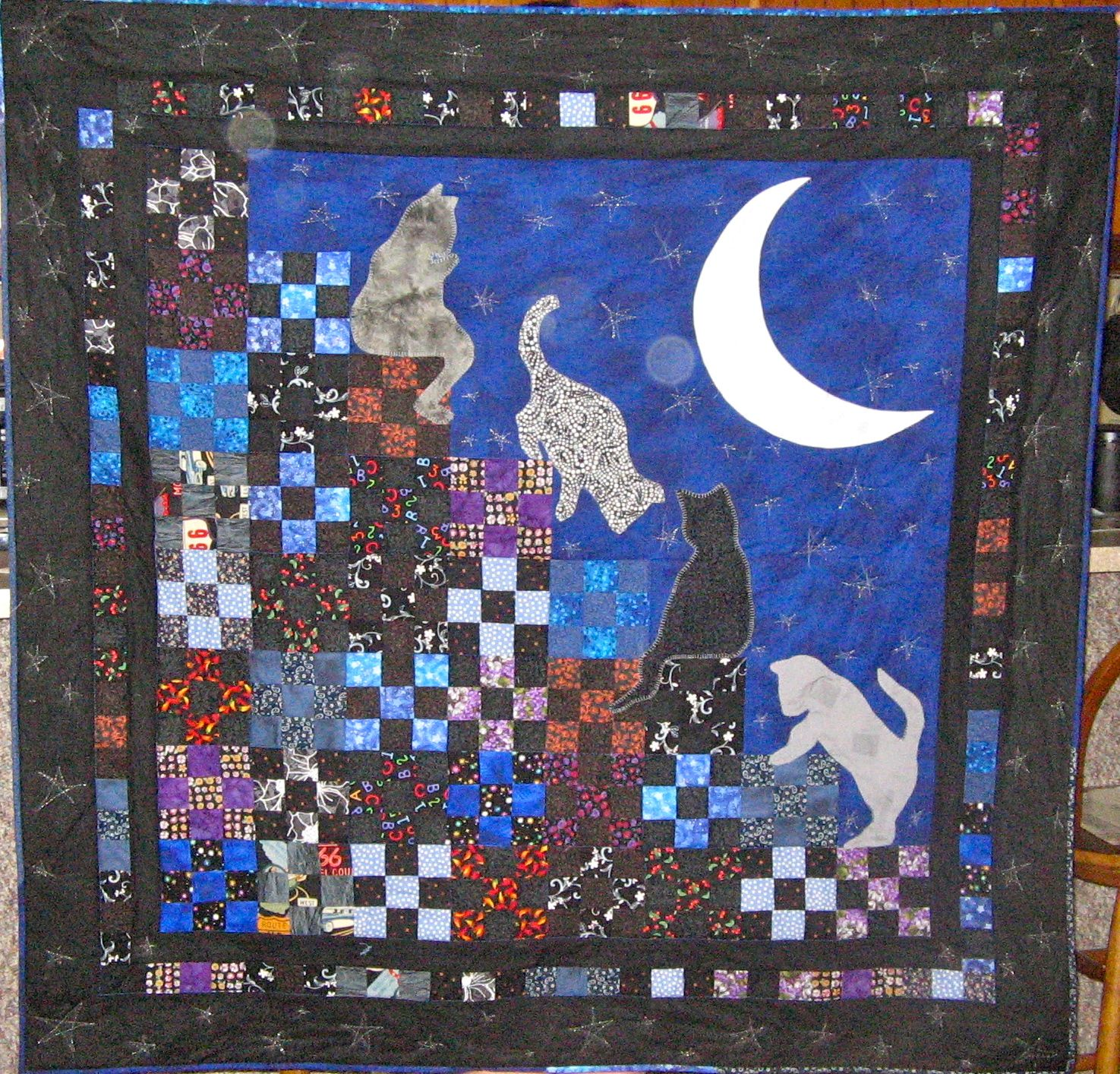 Stairway to Cat Heaven | The Quilts | Pinterest ...