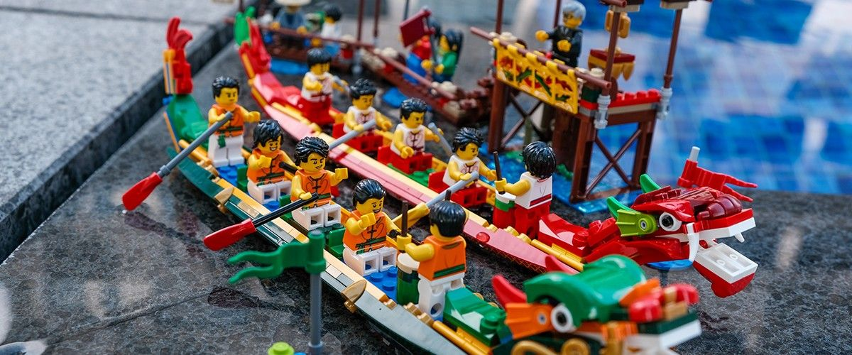 Geek Review: LEGO Dragon Boat Race 80103 #geekculture