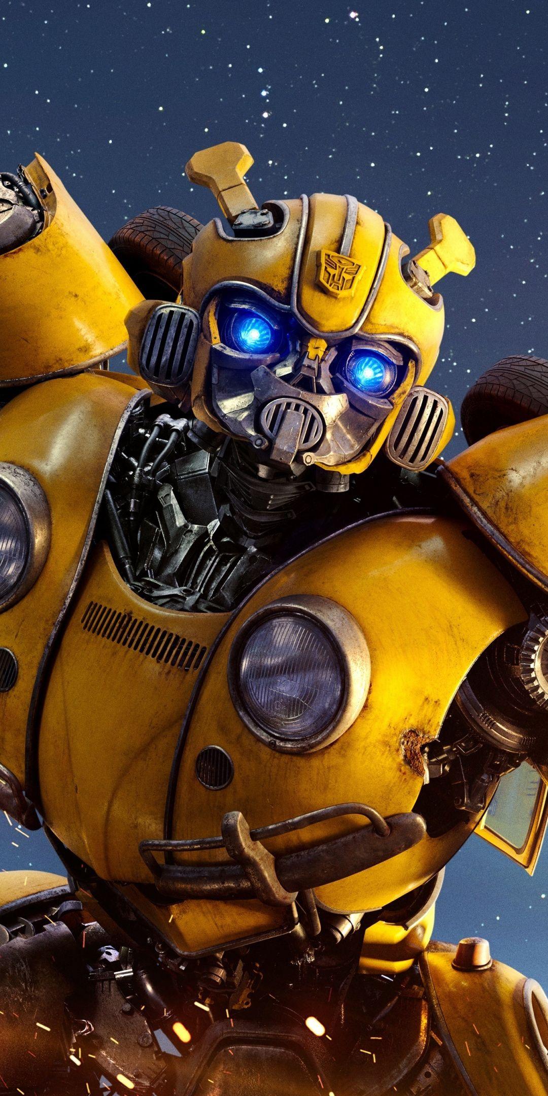 Movie, 2018, robot, Bumblebee, 1080x2160 wallpaper