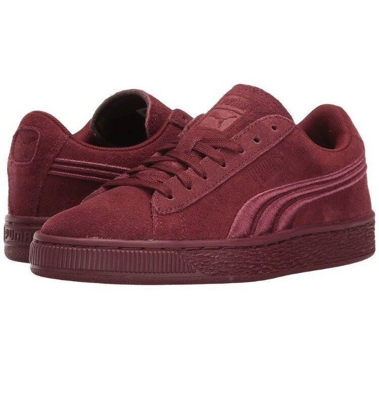 Suede Puma Sneaker Badge Cabernet Red New 06 Classic Kids 362951 MSUpVz